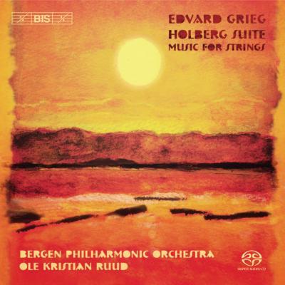 弦楽のための作品集(ホルベアの時代より、2つの悲しい旋律、他) ルード&ベルゲン・フィル