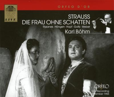楽劇『影の無い女』全曲 ベーム&ウィーン国立歌劇場(3CD)