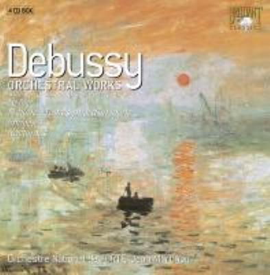 管弦楽作品全集 マルティノン&フランス国立管(4CD)