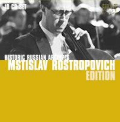 ロストロポーヴィチ・エディション〜ソ連録音集 1957-1972(10CD)