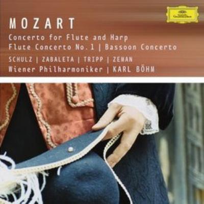 フルートとハープのための協奏曲、フルート協奏曲第1番、他 シュルツ、トリップ(fl)ベーム&ウィーン・フィル