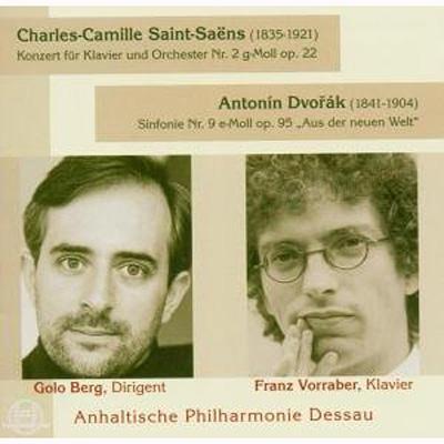 Sym.9: G.berg / Anhalt Po +saint-saens: Piano Concerto.2: Vorraber(P)