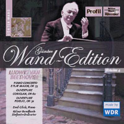 ピアノ協奏曲第5番『皇帝』、他 ギレリス、ヴァント&ケルン放送響