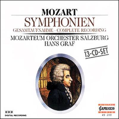 交響曲全集 ザルツブルグ・モーツァルテウム管弦楽団、グラーフ(指揮)