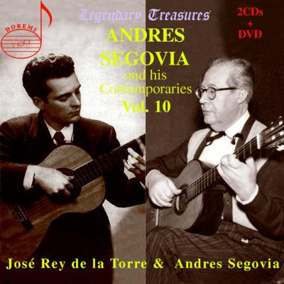 Segovia & His Contemporaries Vol.10-segovia(G), De La Torre(G)