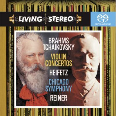チャイコフスキー:ヴァイオリン協奏曲、ブラームス:ヴァイオリン協奏曲 ハイフェッツ、ライナー&シカゴ響(ハイブリッドSACD)