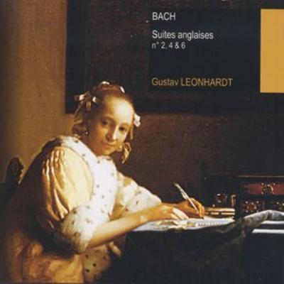 『イギリス組曲』全曲 -II レオンハルト(cemb)