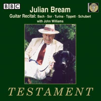 Bream J.s.bach、Sor、Turina、Tippett、Schubert(J.williams)