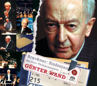 交響曲第4・5・7・8・9番 ヴァント&BPO(DVD付き)
