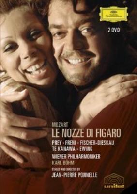 歌劇『フィガロの結婚』全曲 ポネル演出、ベーム指揮ウィーン・フィル、フレーニ、プライ、他(DVD)