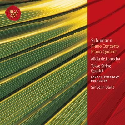 ピアノ協奏曲、ピアノ五重奏曲 ラローチャ(p)C.デイヴィス&LSO、東京クァルテット