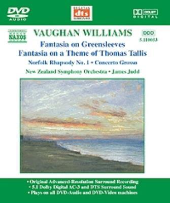 <管弦楽名曲集>タリスの主題による幻想曲/ノーフォーク狂詩曲第1番/他 ジャッド/ニュージーランド交響楽団