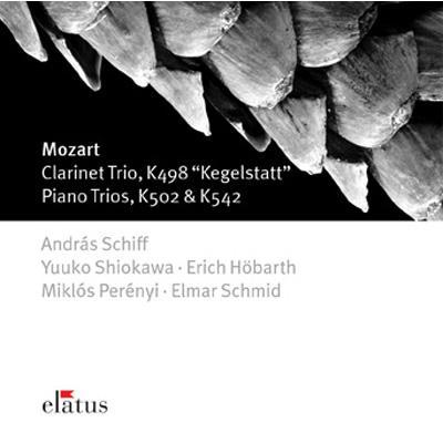 Piano Trio.4, 5, Kegelstatt-trio: A.schiff Hobarth Perenyi塩川悠子etc