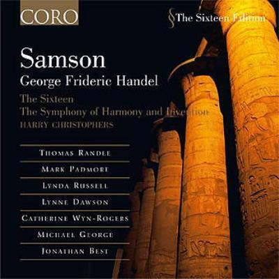 オラトリオ『サムソン』 クリストファーズ&シックスティーン(3CD)