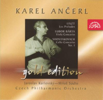 チェロ協奏曲第1番 サードロ(vc)、リスト:『前奏曲』、他 アンチェル&チェコ・フィル