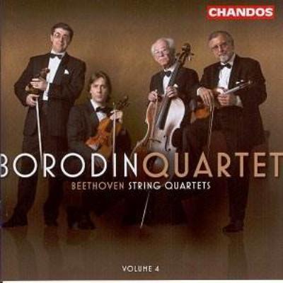 弦楽四重奏曲第12番、第13番 ボロディン四重奏団(2004)