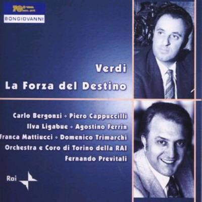 La Forza Del Destino: Previtali / Turin Rai.so Bergonzi Cappuccilli