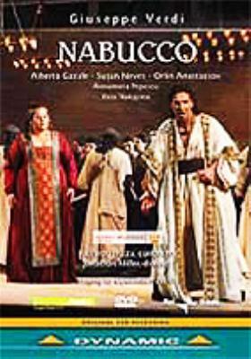 『ナブッコ』全曲 ジョナサン・ミラー(演出)、フリッツァ&ジェノヴァ・カルロ・フェリーチェ劇場(2004 ステレオ)