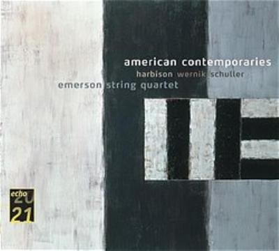 American Contemporary Music-harbison Wernick Schuller エマーソン弦楽四重奏団