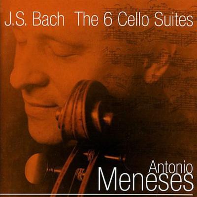 無伴奏チェロ組曲全曲 メネセス(2CD)