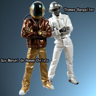 Daft Punk Thomas Bangater