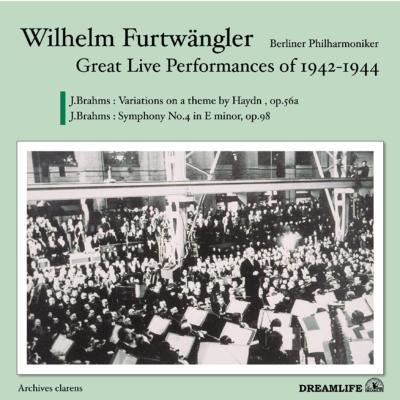 Sym.4, Haydn Variations: Furtwangler / Bpo (1943.12)