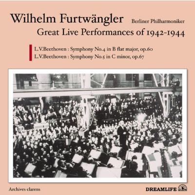 Sym.4, 5: Furtwangler / Bpo (1943.6)