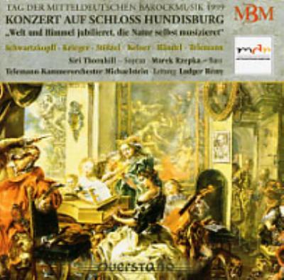 中部ドイツ・バロック音楽の日第3集−フンディスブルク城での演奏会1999