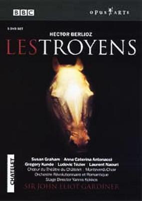 『トロイアの人々』全曲 コッコス演出、ガーディナー&レヴォリュショネール・エ・ロマンティーク、グラハム、アントナッチ、他(2003 ステレオ)(3DVD)