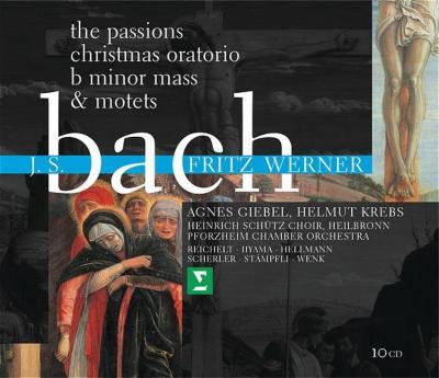 Johannes, Matthaus, Mass, Oratorio, Etc: Werner / Heilbronn Pforzheim.co, Etc
