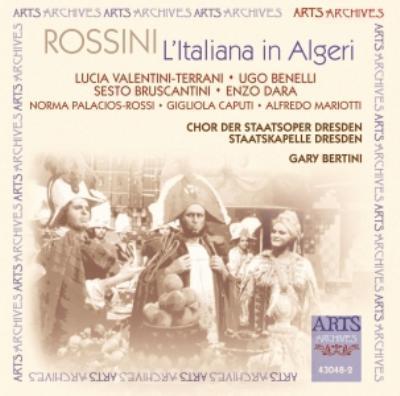 歌劇『アルジェのイタリア女』全曲 ヴァレンティーニ=テッラーニ ...