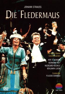 Die Fledermaus: Domingo / Royal Opera Te Kanawa Prey Heichele Luxon