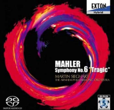 マーラー:交響曲第6番 『悲劇的』 マルティン・ジークハルト&アーネム・フィル