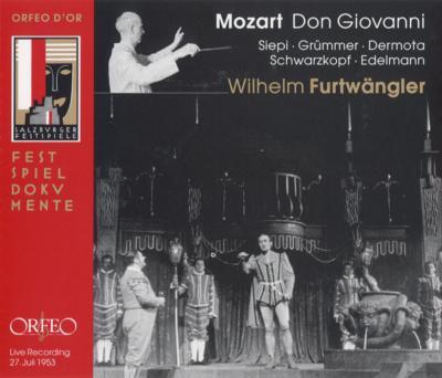 歌劇『ドン・ジョヴァンニ』全曲 フルトヴェングラー&ウィーン・フィル(1953)