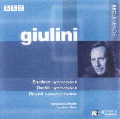 ブルックナー:交響曲第8番、ドヴォルザーク:交響曲第8番、他 ジュリーニ(2CD)