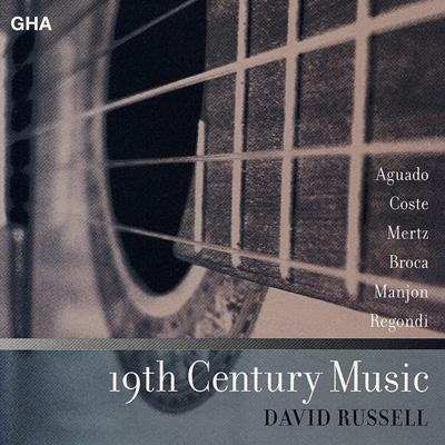 D.russell 19th Century Guitarmusic 【Copy Control CD】