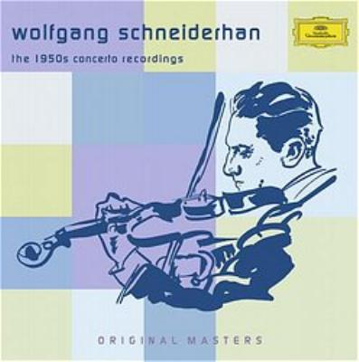 ヴォルフガング・シュナイダーハン / 協奏曲録音集(5CD) | HMV&BOOKS ...