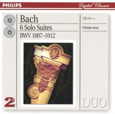 無伴奏チェロ組曲第1〜6番(ヴィオラ版) 今井信子(Va)(2CD)