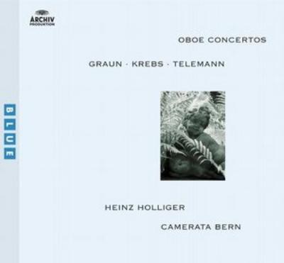 ドイツ・バロック・オーボエ協奏曲集 ハインツ・ホリガー(Ob)