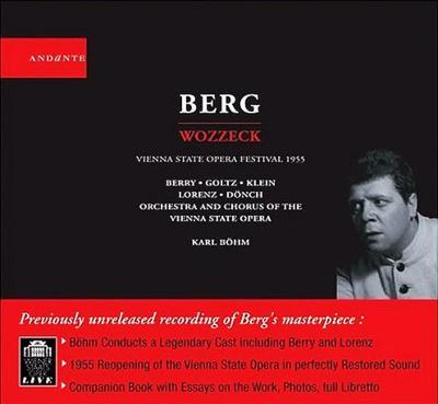 歌劇『ヴォツェック』全曲 ベーム&ウィーン国立歌劇場(2CD)