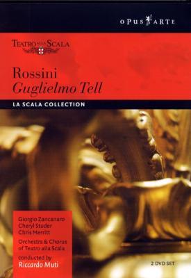歌劇「ウィリアム・テル」(1988年、ミラノ・スカラ座) ザンカナーロ/メリット/スルヤン/ムーティ/ミラノ・スカラ座管&合