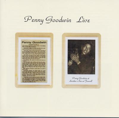 Live : Penny Goodwin | HMV&BOOKS online - PCD-23533