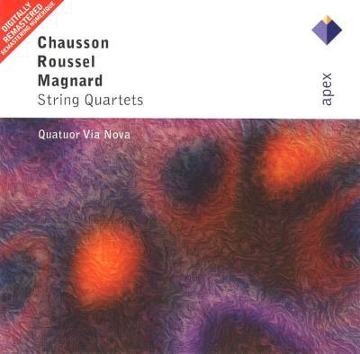 String Quartet: Quatuor Via Nova +roussel