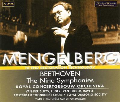Comp.symphonies: Mengelberg / Concertgebouw.o, Sluys, Luger, Tulder, Ravelli