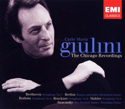 ジュリーニ&シカゴ響ボックス(4CD)