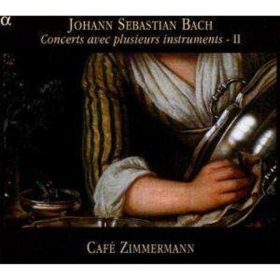 さまざまな楽器による協奏曲集II カフェ・ツィマーマン