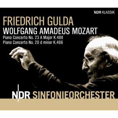 ピアノ協奏曲第20番、第23番 グルダ&北ドイツ放送響(1993)