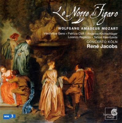 『フィガロの結婚』全曲 ヤーコプス&コンチェルト・ケルン、キーンリーサイド、チオーフィ、他(2003 ステレオ)(3CD)