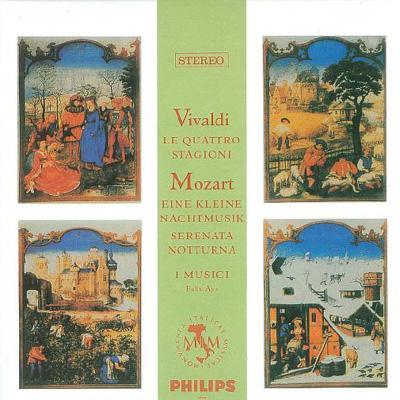 ヴィヴァルディ:協奏曲集《四季》、他 イ・ムジチ合奏団