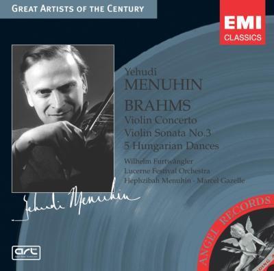 Violin Concerto: Menuhin(Vn)furtwangler / Lucern Festival.o +sonata.3, Etc